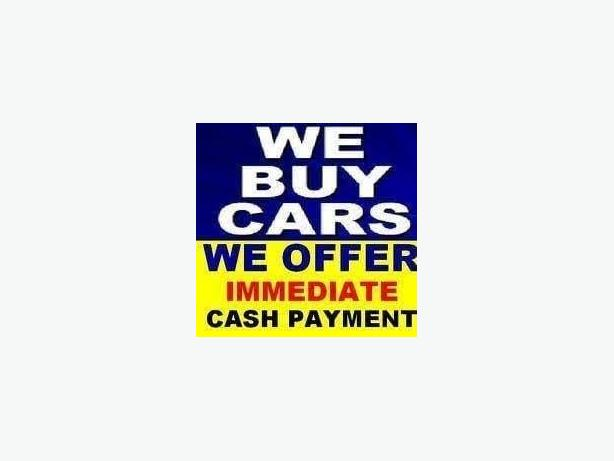 CASH FOR CARS. ANY CONDITION