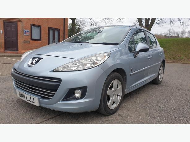 2011 PEUGEOT 207 1.4 PETROL ENVY BLUE 5 DOOR