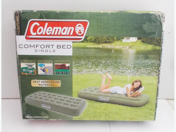 Coleman Comfort Bed Single Green