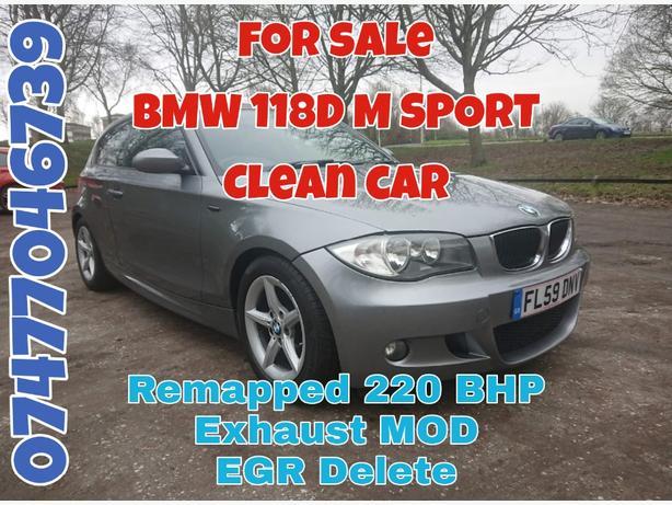 BMW 118D M SPORT (£30 TAX)