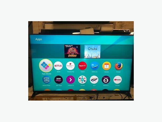 55 INCH 4K ULTRA HD PANASONIC SMART 3D LED TV+APPS+WIFI+REMOTE+DELIVERY