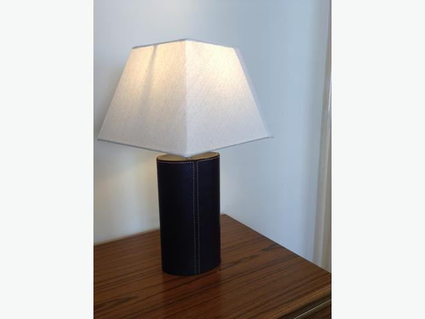 Vintage And Stylish Leather Lamps