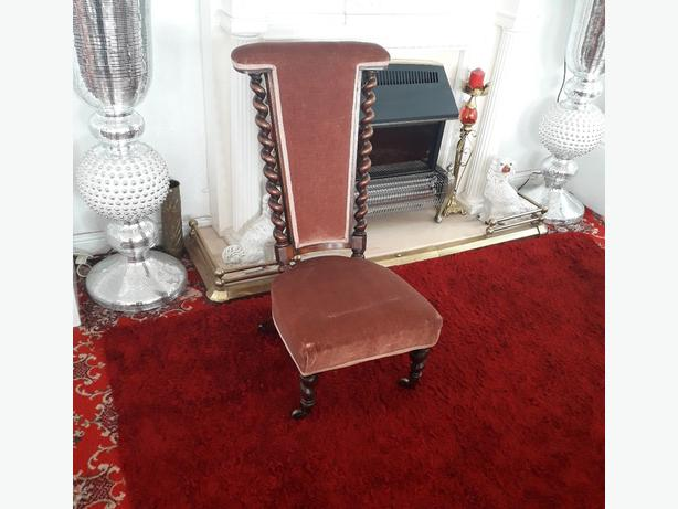Victorian Pray Chair