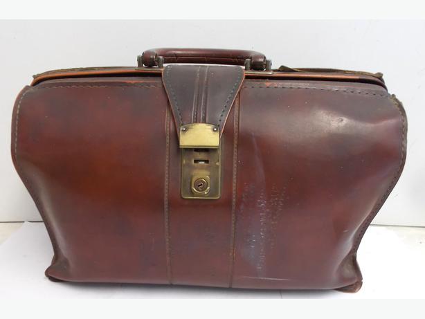 Vintage Leather Brief Case