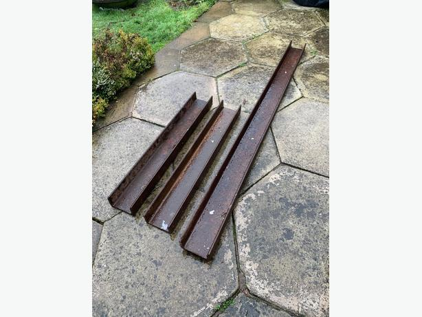 x3 Steel Building Beams - ONLY £15 EACH (CHEAP PRICE FOR QUICK SALE)