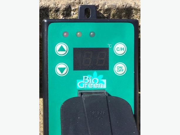 Bio green greenhouse thermostat