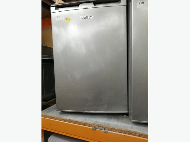 Beko undercounter fridge with warranty at Recyk Appliances