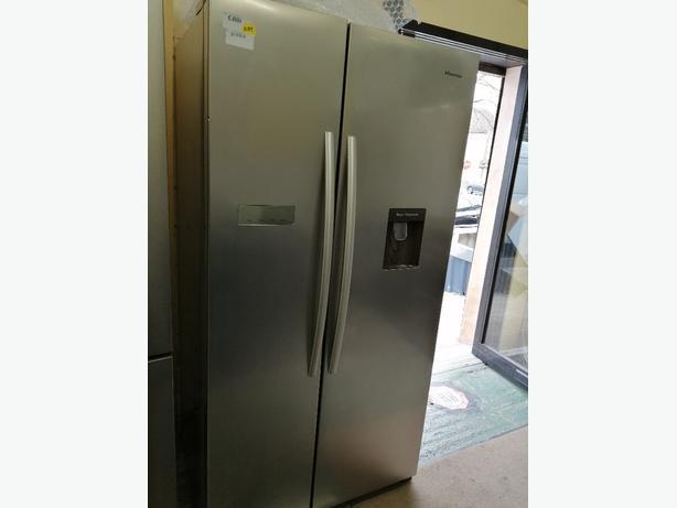Hisense American style Fridge freezer graded with warranty at Recyk Appliances