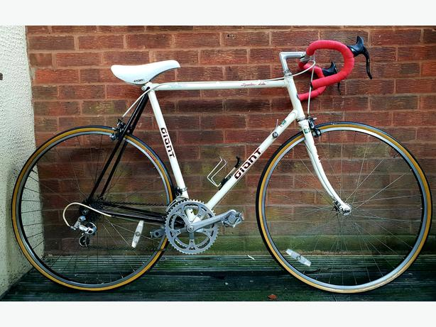 Vintage  Giant Speeder lite racing vintage bike,12 gears,700c wheels