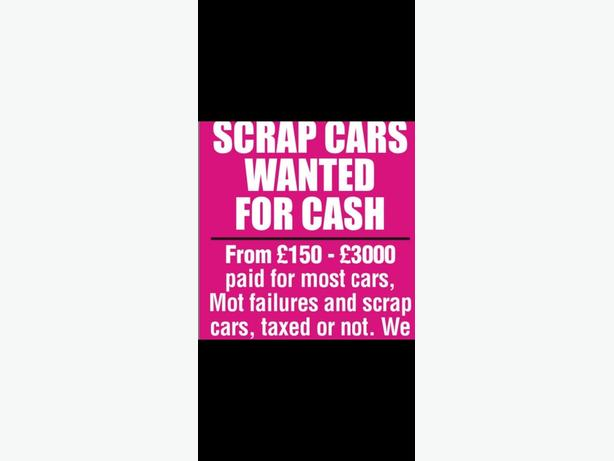 Wanted cars vans we pay more
