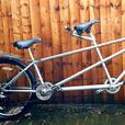 "Tandem custom build bike,27.5""wheels,dual discbrakes"