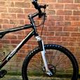 "Apollo Fs26 bike,dual suspension,26""wheels,front disc brakes"