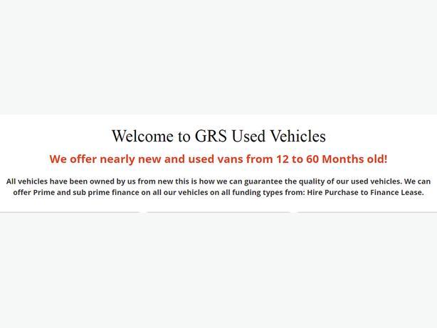 Used Van Leasing Deals