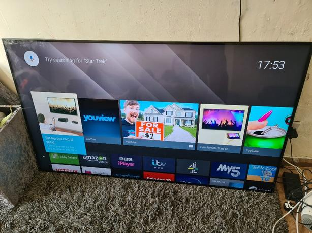 Sony 64inch led ultra HD SMART 4k android TV