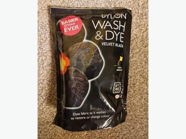 Dylon Wash and Dye - Velvet Black