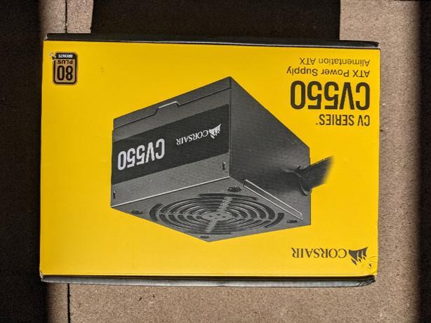 ONO NEW Corsair 550W ATX Computer PSU Power Supply