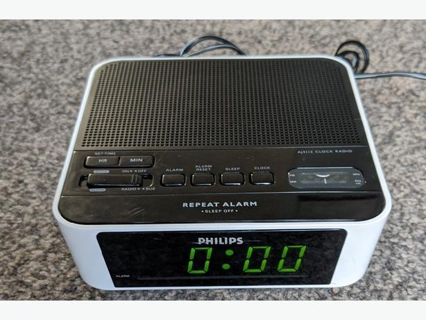 philips clock radio aj3112/05