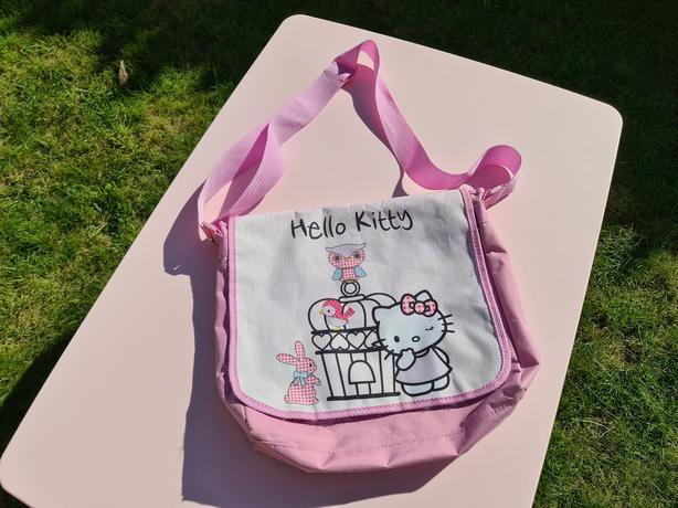 Hello Kitty Over Shoulder Childrens Bag Satchel