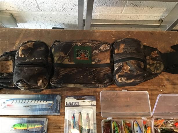 Lures & bag/belt