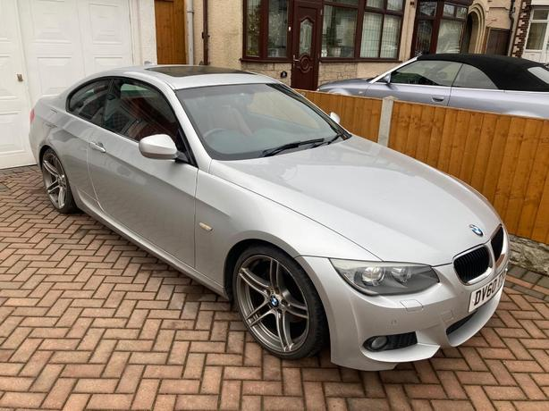 BMW 320d M Sport Coupe (GREAT SPEC)