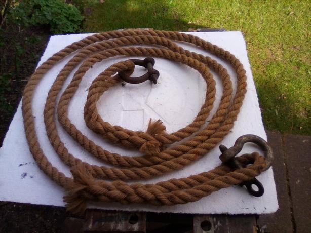 Heavy duty tow rope