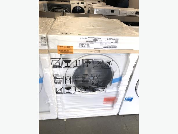 ♻️♻️ PLANET 🌍 APPLIANCE- NEW HOTPOINT 7KG WASHING MACHINE/ WASHER ♻️♻️