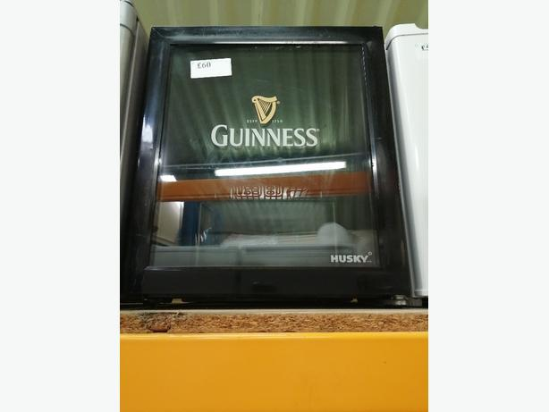 GUINNESS GLASS DOOR TABLE TOP FRIDGE WITH WARRANTY AT RECYK APPLIANCES