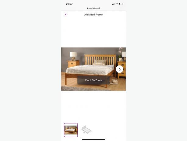 Wayfair double bed
