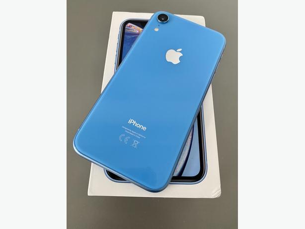 Apple iPhone XR 128GB unlocked Blue NO OFFERS - £299.99
