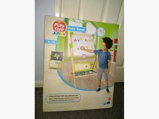 Brand New Boxed Playtive Junior Kids Easel 4-10yrs