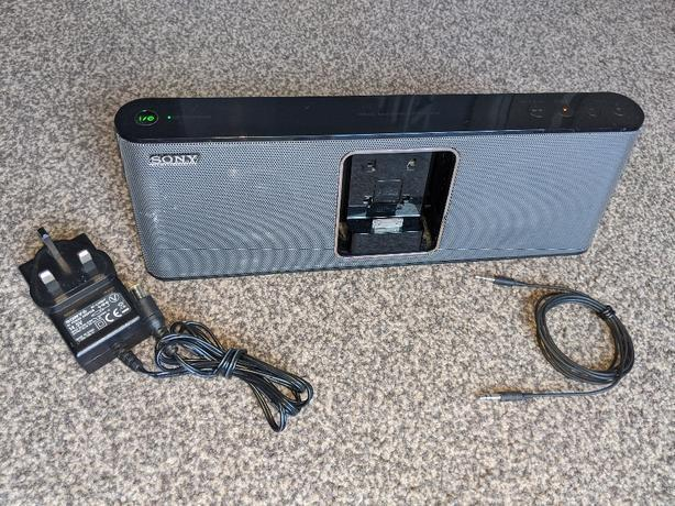 sony rdp m15ip docking station rechargeable