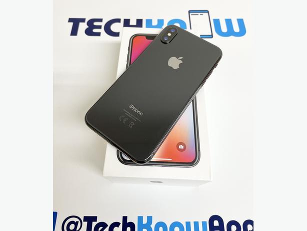 Apple iPhone X 64GB unlocked Space Grey Boxed £279.99