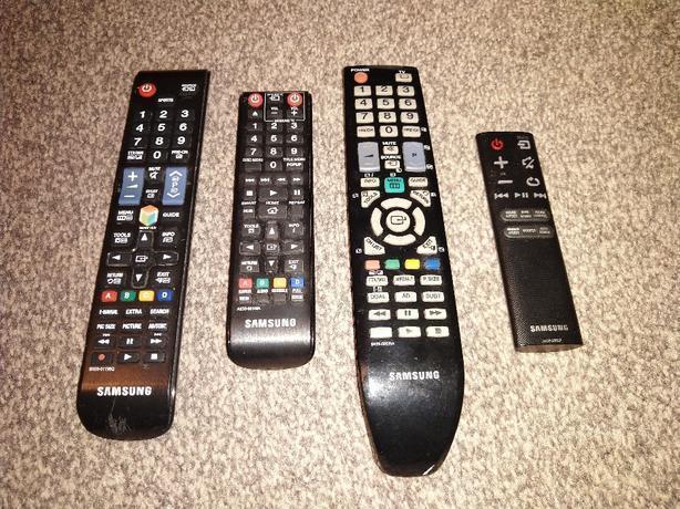 Samsung remotes. £10 each