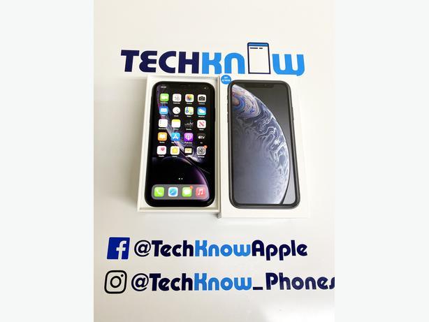 Apple iPhone XR 128GB unlocked Black boxed £299.99