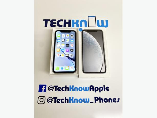 Apple iPhone XR 64GB unlocked White Boxed £279.99