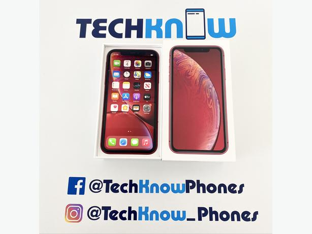 Apple iPhone XR 64GB unlocked Red Boxed £279.99