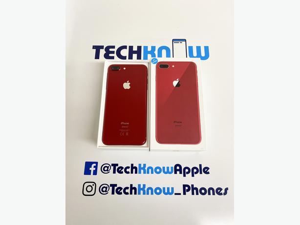 Apple iPhone 8 Plus 64GB unlocked Red Boxed £249.99