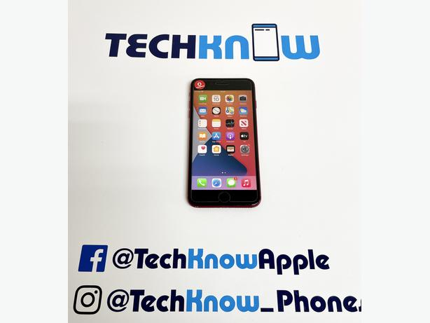 Apple iPhone 8 Plus 64GB Red Vodafone £199.99