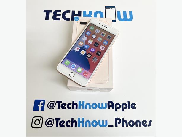 Apple iPhone 8 Plus 64GB unlocked Gold £249.99