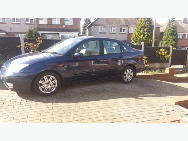 ford focus saloon diesel 04 full mot 76000