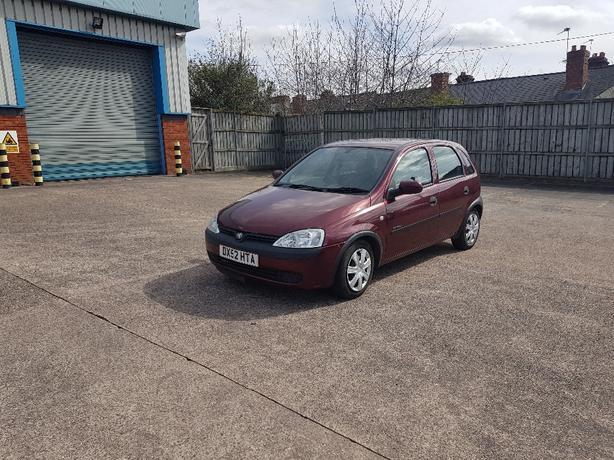 Automatic corsa 1.2 long mot low mileage drives great