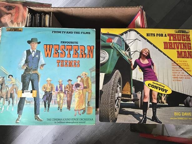 Favourite western themes and hits for truck driver