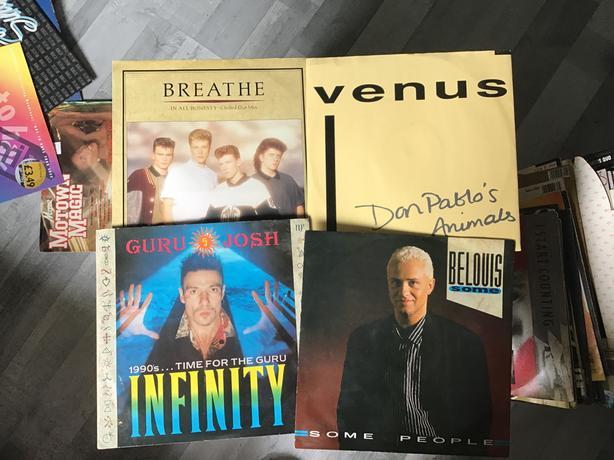 4x vinyls various artists