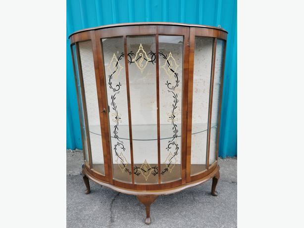 Bow Fronted Cabinet
