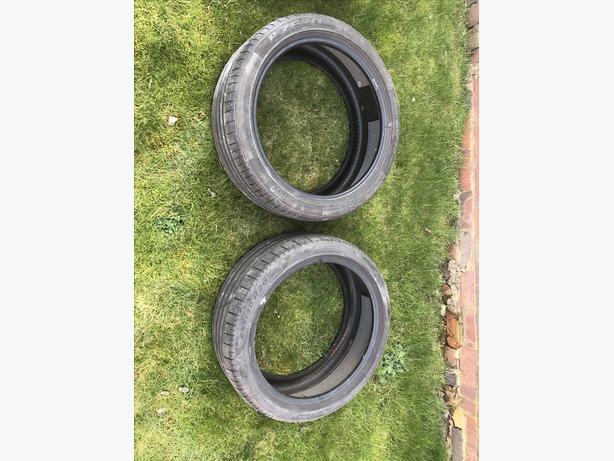 Pirelli P Zero pair of tyres - 255/40 R20