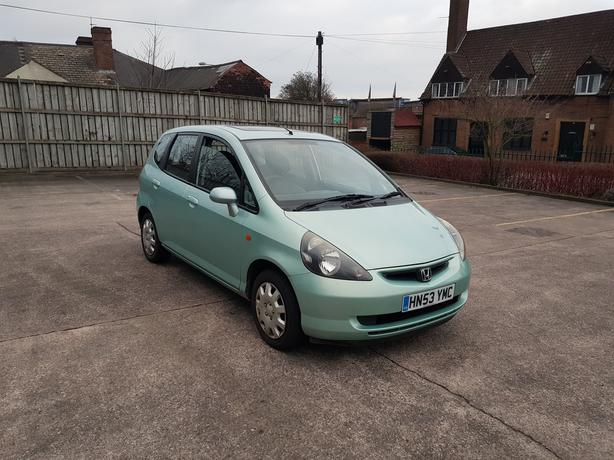 Automatic Honda Jazz 1.4, 5dr, long mot, drives excellent, 7 speed gearbox