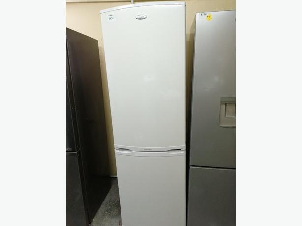 Whirlpool fridge freezer with warranty at Recyk Appliances