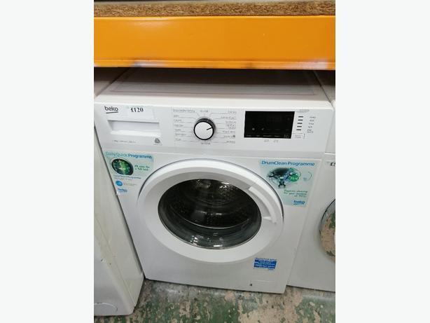 Beko 1-9 kg washing machine with warranty at Recyk Appliances