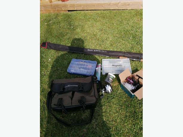 Pike fishing kit
