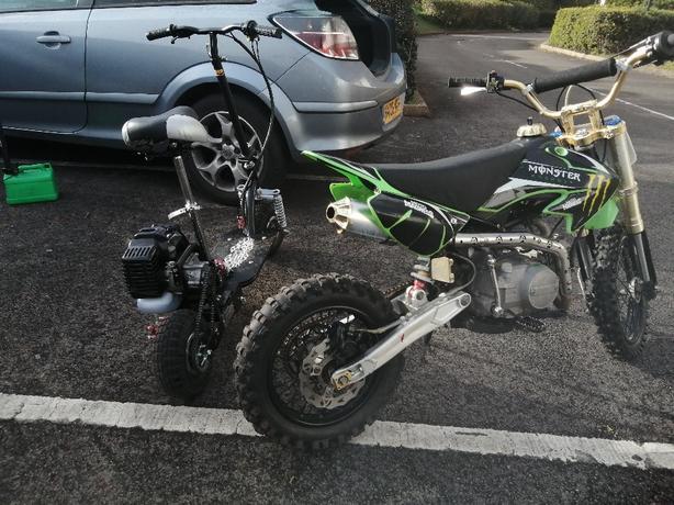 Kx 125cc Pit Bike